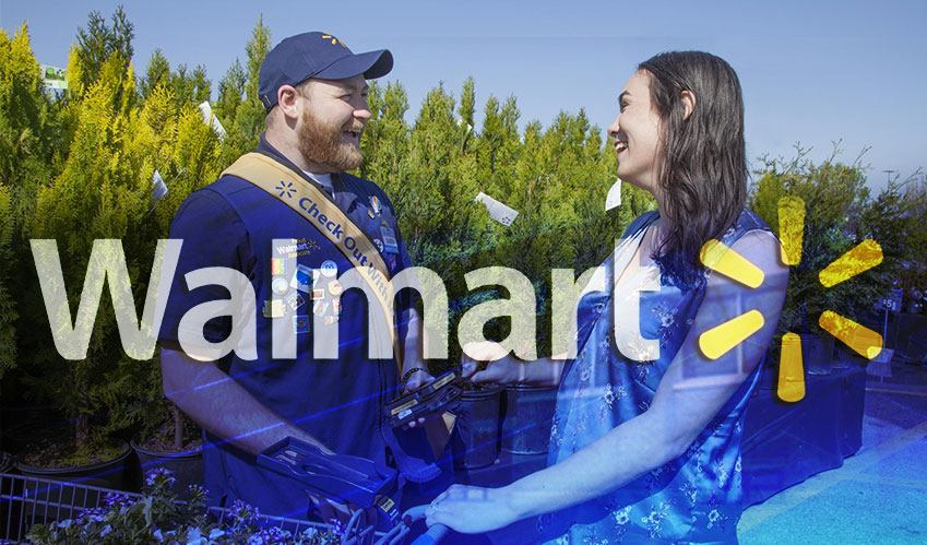 walmart check out with me