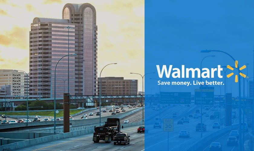 Walmart's new store in Dallas promotes technology-driven shopping experiences