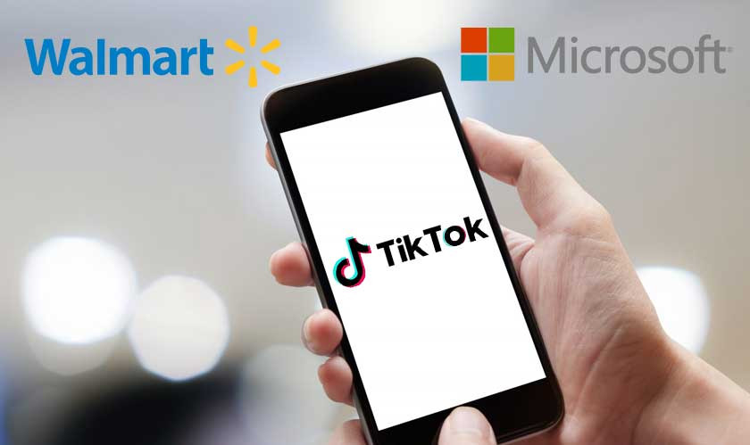 Walmart May Team Up With Microsoft for TikTok Acquisition