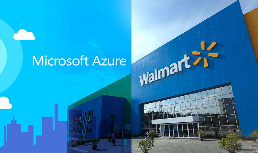 Walmart banking on Microsoft for Cloud edge