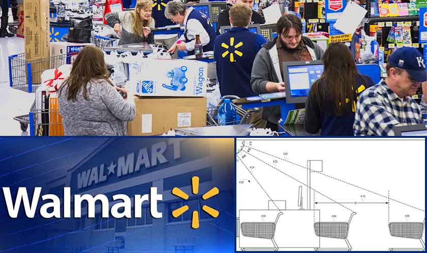 A patent to eavesdrop on shoppers and employees for Walmart