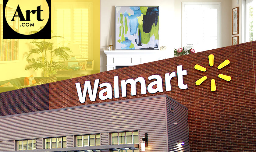 Walmart announces its plan of buying Art.com
