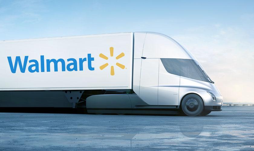 Walmart to pilot Tesla's New Semi Trucks