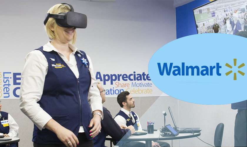 Walmart is making VR a standard element in its employee training