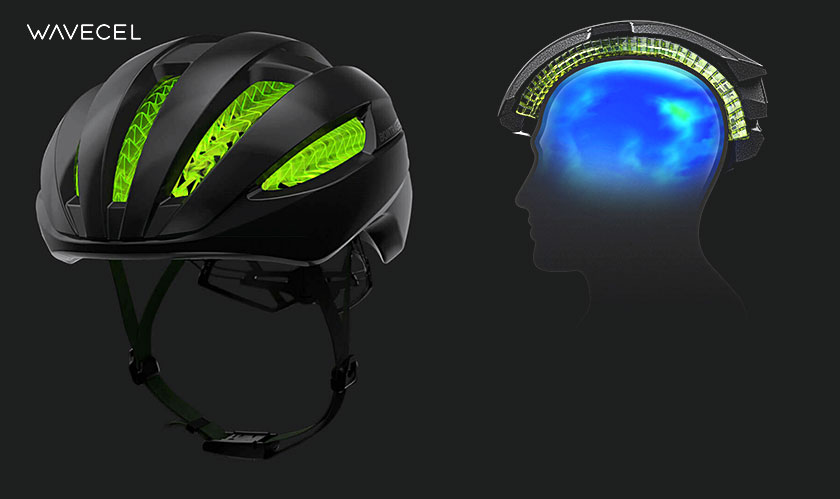 wavecel helmet to avoid concussions