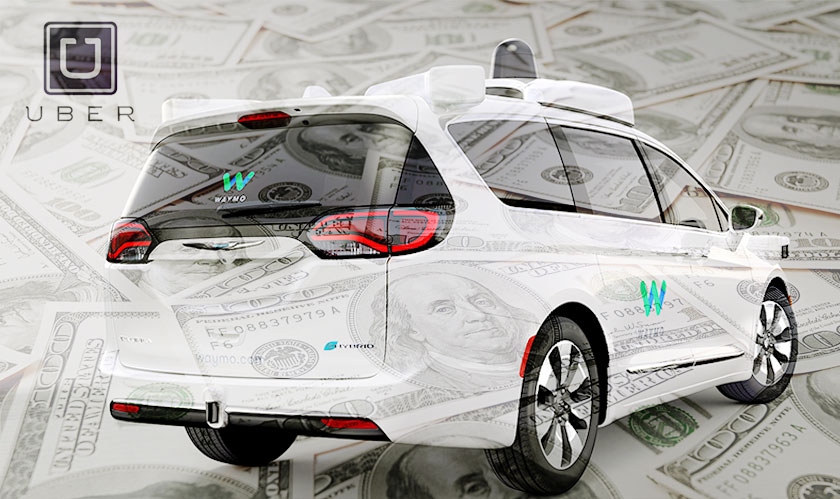 Waymo seeks $2.6 billion from Uber for one allegedly stolen trade secret
