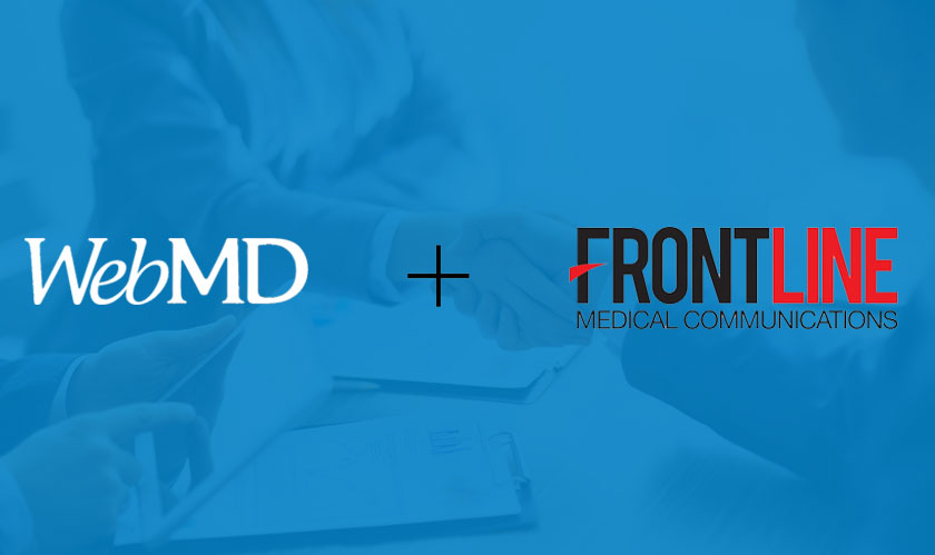 healthcare webmd acquires frontline media communications