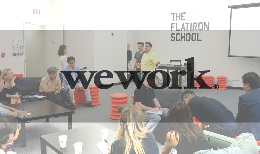WeWork acquires Flatiron School