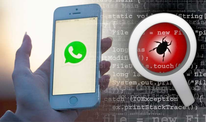 whatsapp attacked by a security bug