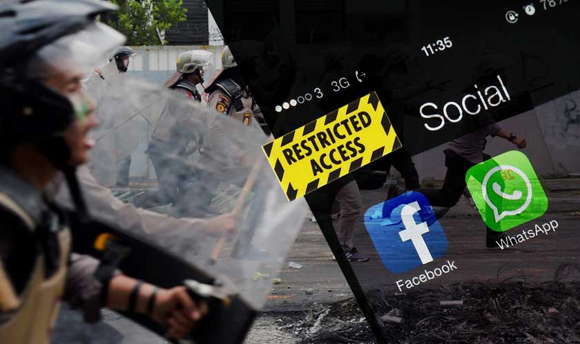 whatsapp facebook restricted access indonesia