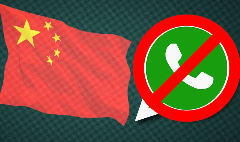 WhatsApp is off in China