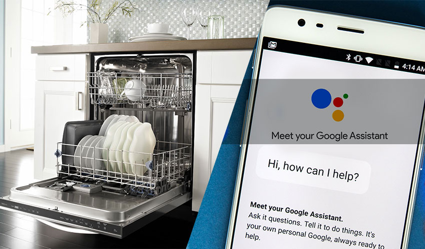 Whirlpool dishwasher gets enhancements from Google Assistant