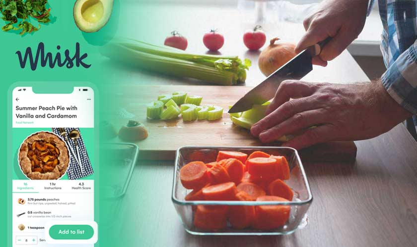 software whisk helps you make meal plans