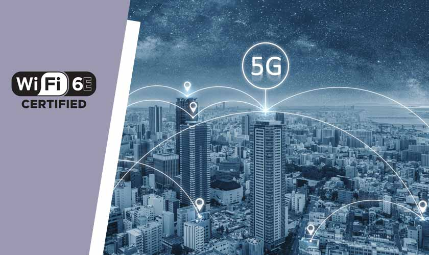Wi-Fi 6E moves to 6GHz band to compliment 5G