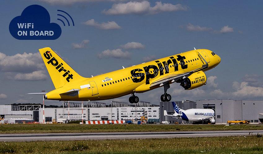 wifi on spirit airplanes