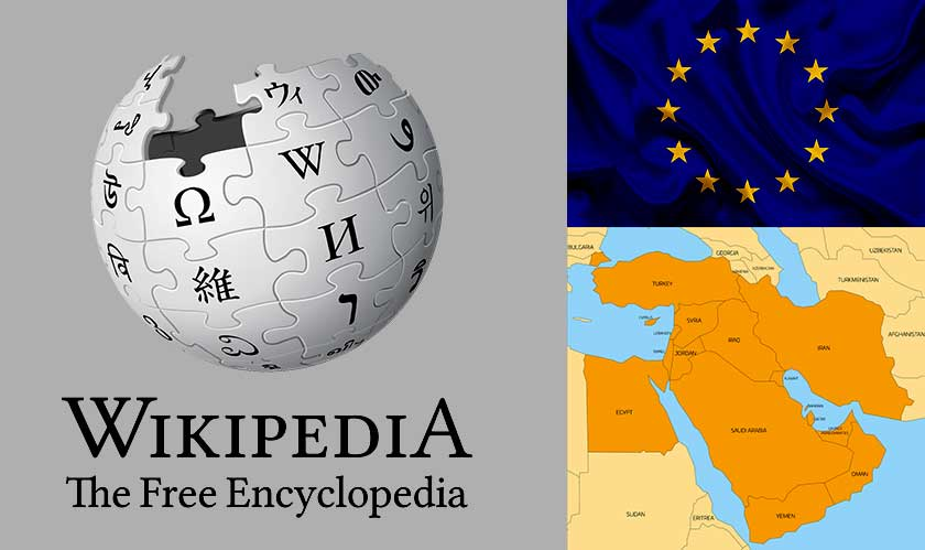 Wikipedia was down in parts of Europe and Middle East