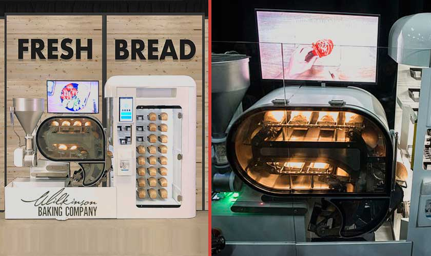 Meet BreadBot! U.S. staple food will now be served hot