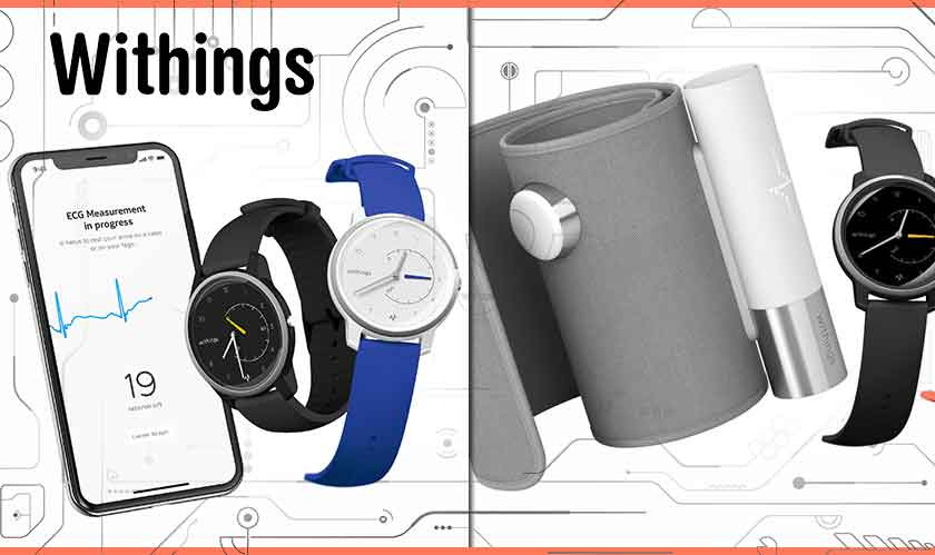 withings watch offering ecg