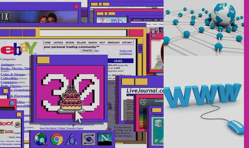 www turns 30 years