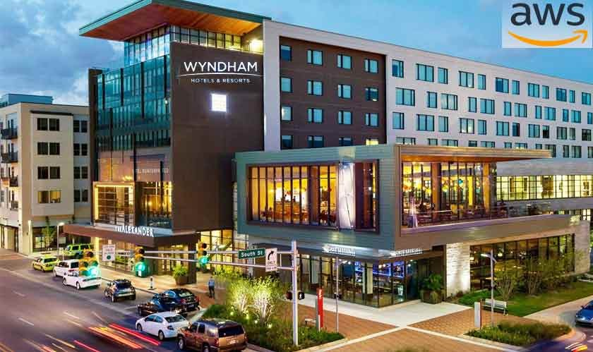Wyndham hotels shake hand for a new deal with AWS