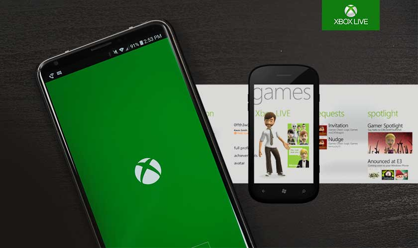 xbox live on android ios