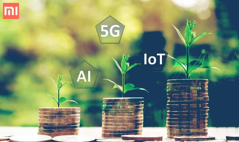 xiaomi 7 billion investment 5g iot