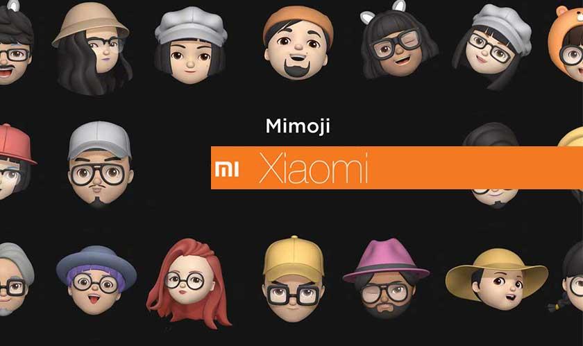 Xiaomi reproduces Apple's Memoji