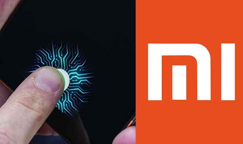 xiaomi indisplay fingerprint sensor
