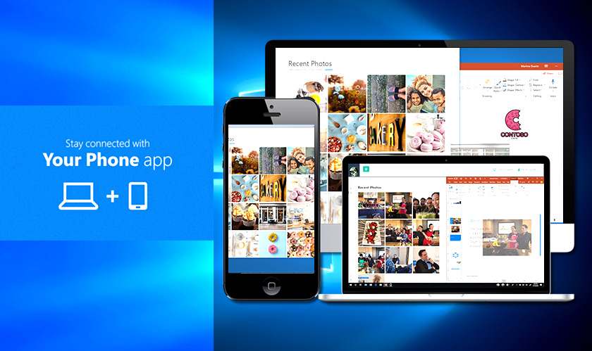 Microsoft begins testing its new Windows 10 Your Phone app