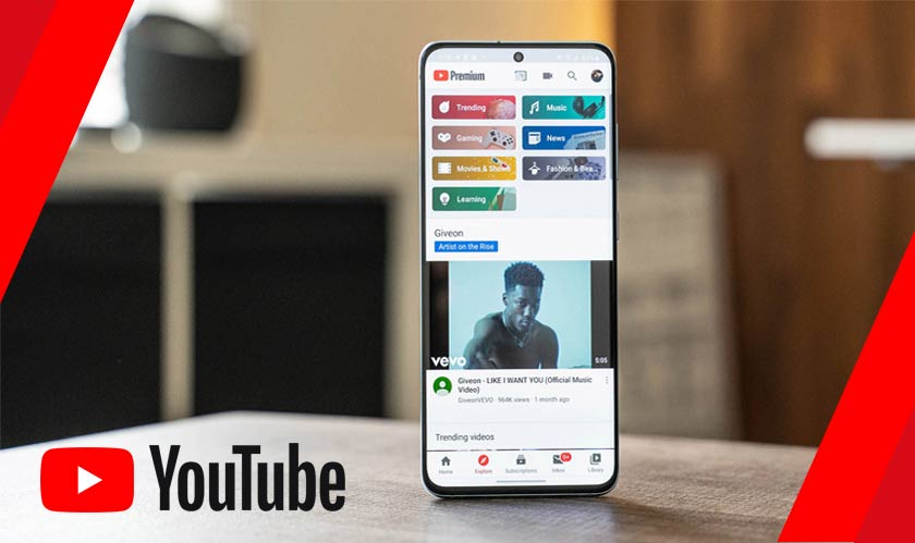 YouTube rolls out Explore tab in its mobile app