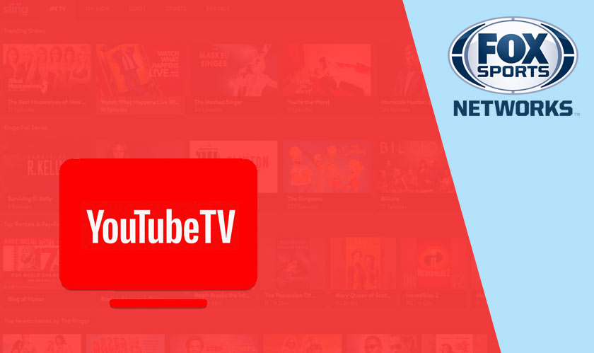 YouTube TV gets rid of FOX Regional Sports and YES Network