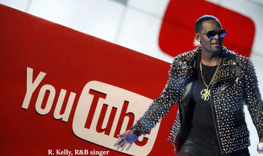 YouTube shuts down two of R&B singer R. Kelly's channels after his conviction