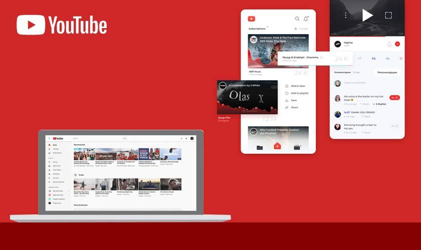 YouTube bids goodbye to its old desktop UI design