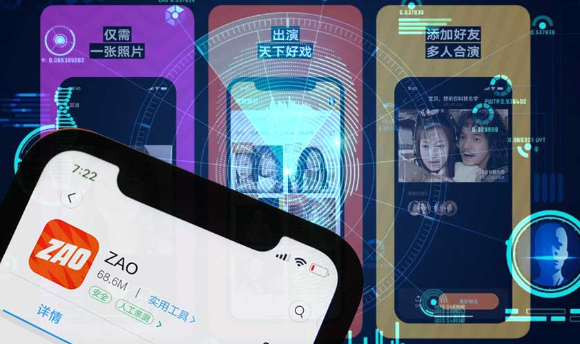 Zao is facing the backlash of security risks