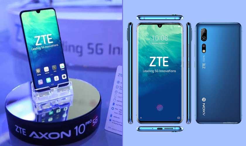 zte debuts 5g phone china