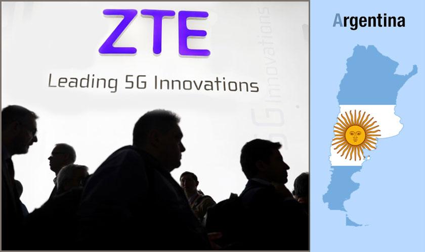 ZTE to provide surveillance tech to Argentina