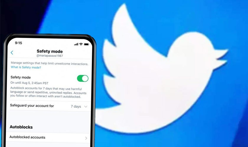 Twitter brings a new Safety Mode that auto-blocks Harassers