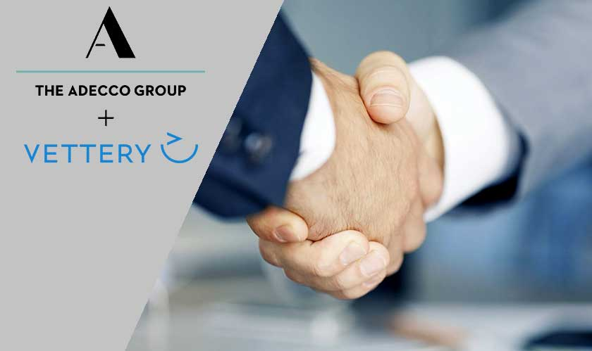 Adecco Group acquires recruiting startup Vettery