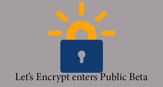 Let's Encrypt enters Public Beta