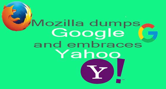 Mozilla dumps Google and embraces Yahoo