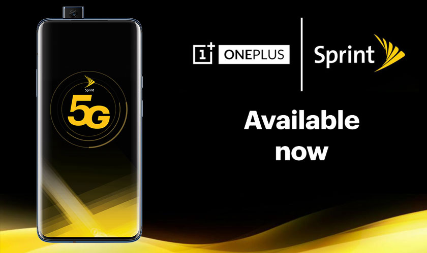 OnePlus 7 Pro with 5G capabilities available on Sprint