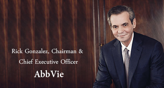 We are AbbVie, a highly focused research-driven biopharmaceutical company.