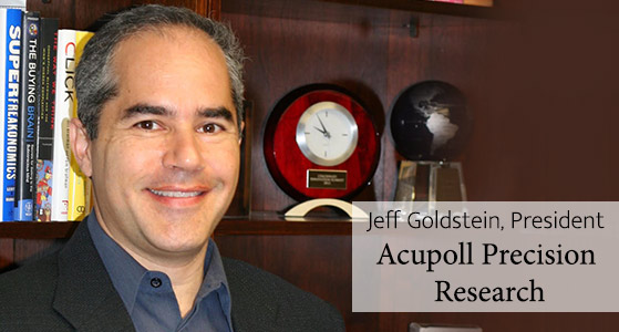 ciobulletin acupoll precision research jeff goldstein president