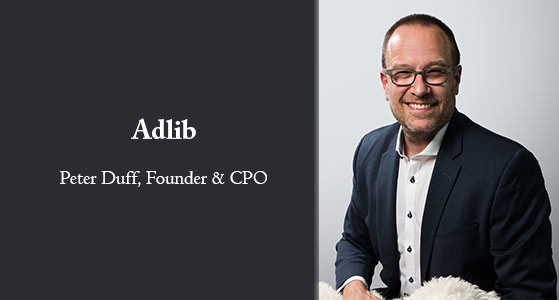 Peter Duff, Adlib Founder & Chief Product Officer: 'Your business demands a complicated mixture of stable, proven technology and market-disrupting innovation. Our 20 years of experience in mission-critical enterprise environments and a history of ongoing innovation and technology leadership give you