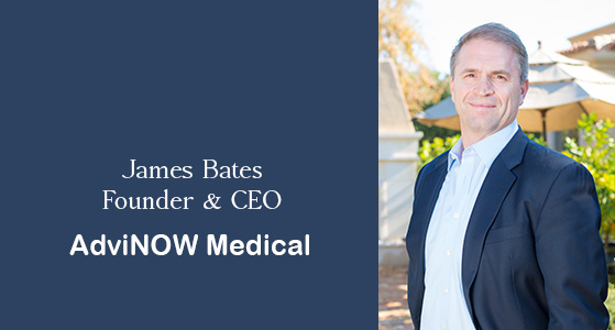 ciobulletin advinow medical james bates founder ceo