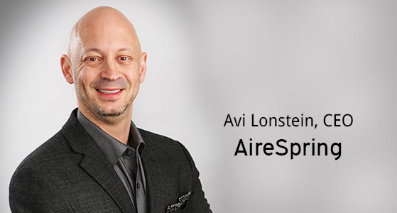 ciobulletin aireSpring avi lonstein ceo