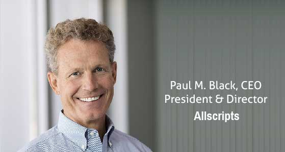 ciobulletin allscripts paul m black ceo president director