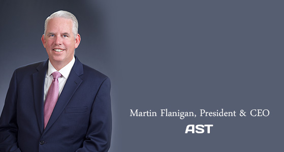 We pioneered a new model of integrated services in the industry: AST