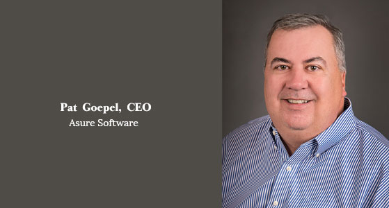 ciobulletin asure software pat goepel ceo