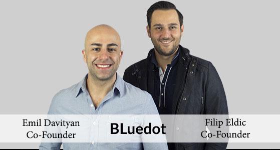 ciobulletin bluedot filip eldic co founder emil davityan co founder